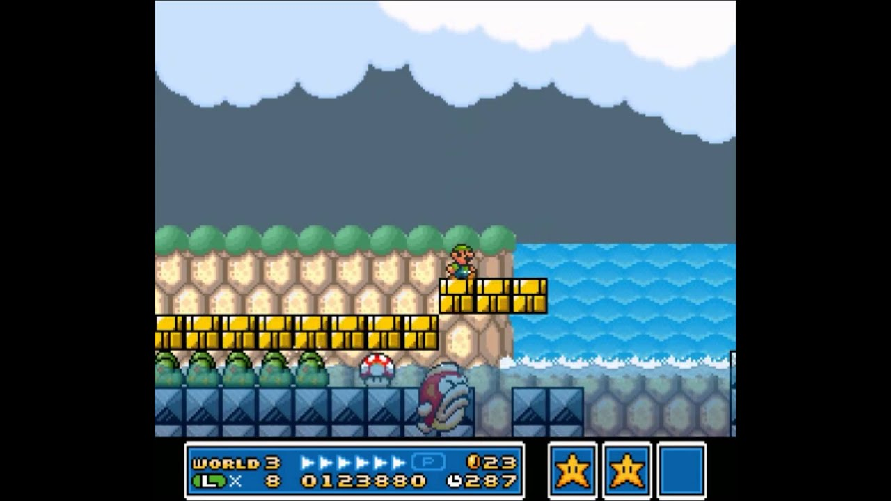 SMAS Co-op: Super Mario Bros 3 Part 4 - Big Bertha - YouTube