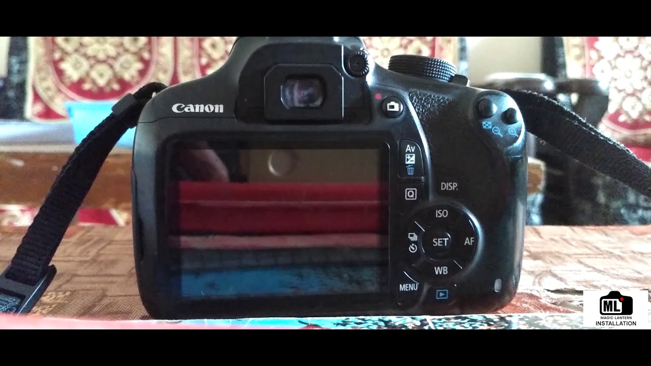 Canon firmware update EOS1200D & 1200D / Rebel T5 - Magic Lantern Nightly  Builds