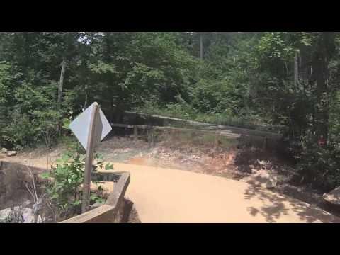 YZ450F Dirt biking Uwharrie 2014