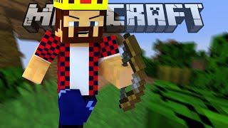 ИЗ ЛУКА КАК ИЗ ПУЛЕМЁТА - Minecraft Скай Варс (Mini-Game)