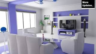 Purple Color Decoration | Room Decor Pictures