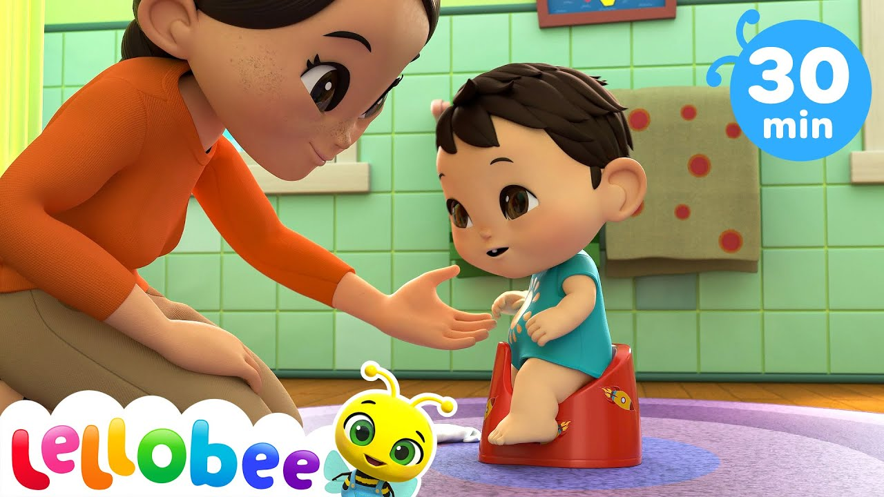 Max Learns To Go Potty - Potty Song + More Nursery Rhymes & Kid Songs - Little Baby Bum