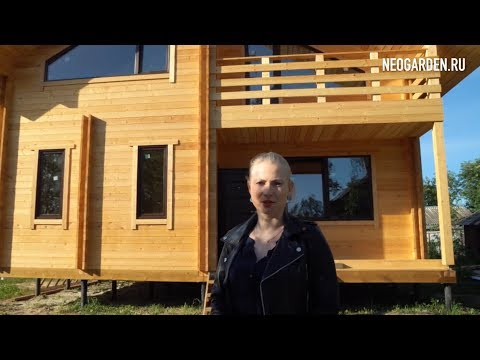 Теплый зимний дом из бруса для постоянного проживания