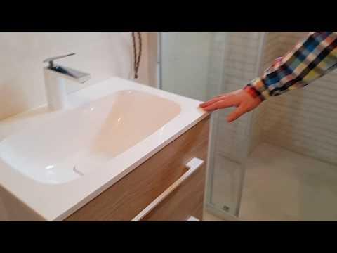 Тумба с раковиной Aqwella из набора Miami: Мебель для ванной