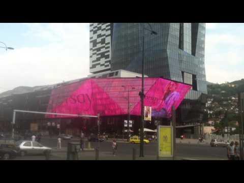 Reklama na sarajevo city centru ( I )