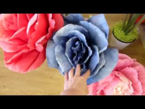 видео: Как я борюсь с выгоранием цветов из гофрированной бумаги