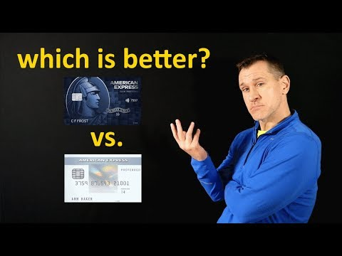 Blue Cash Preferred Vs. Amex Everyday Preferred Credit Card
