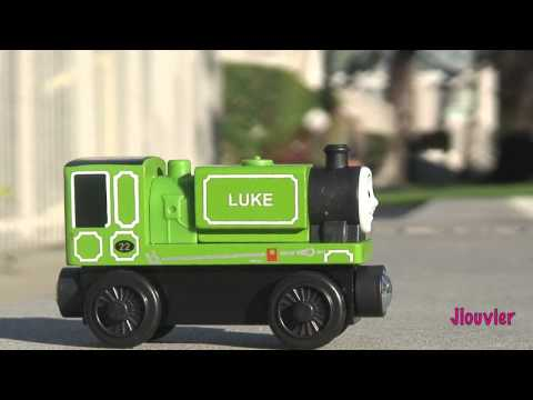 Brand New 2013 Mattel - Luke - Thomas The Tank Engine And Friends Wooden Railway Toy Train Review