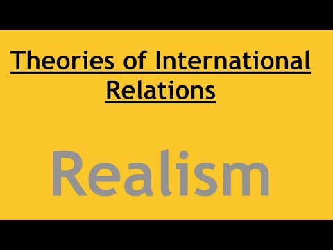 Theories of International Relations- Realism