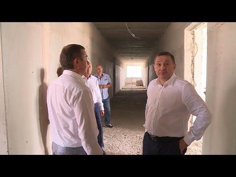 Губернатор Андрей Бочаров раскритиковал темпы ремонта профтехучилища в Калаче-на-Дону