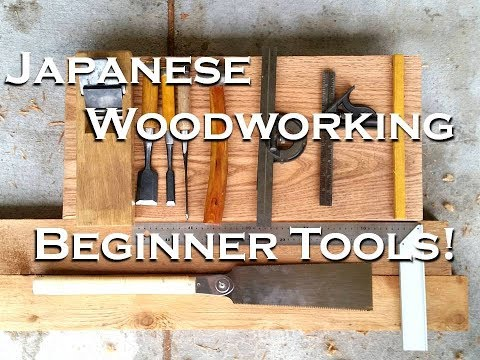 Starting Japanese Woodworking || Fundamental Device Equipment