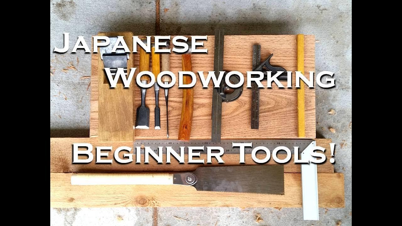 Beginning Japanese Woodworking Basic Tool Kit