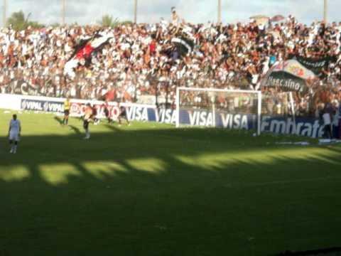 Gol do Vasco 1x1 ASA (AL) - Copa do Brasil 2010