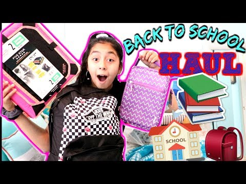 BACK TO SCHOOL SUPPLIES HAUL 2018!✏️