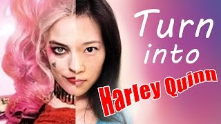 Watch Me Turn Into Harley Quinn Suicide Squad - Digital Cosplay