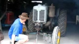 Démarrage tracteur Landini L25