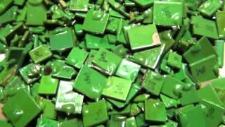 КМ H30, D зеленые - радиодетали, конденсаторы (видео 46)(, 2013-03-08T18:45:07.000Z)