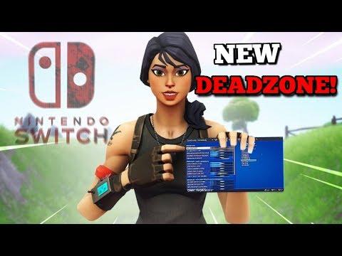 Best Chapter 2 Settings For Fortnite Nintendo Switch! NEW DEADZONE