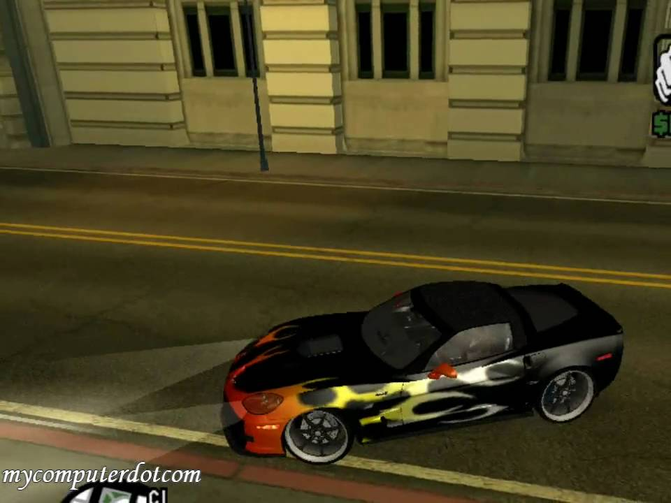 Gta San Andreas 2010 Chevrolet Corvette Zr1 Youtube