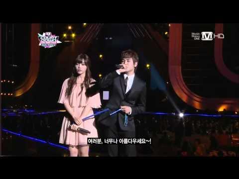 【HD�11 Hoya(Infinite) & Eunji(A-Pink) MC Cut @ MCD Smile Thailand Concert