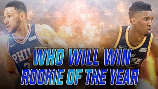 Who Will Win NBA Rookie of the Year? NBA Highlights & 2K18 Gameplay!