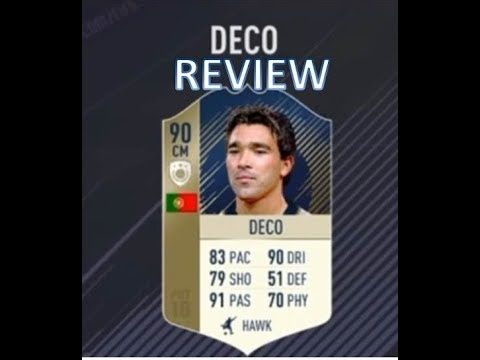 FIFA 18 PRIME Icon DECO (90) Review | FUT CHAMPION Weekend leauge
