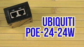 Розпакування Ubiquiti PoE 24V/1A (24W POE-24-24W