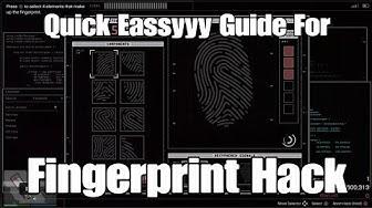 Gta Online Diamond Casino Heist Eassyyy Fingerprint Hacking Guide