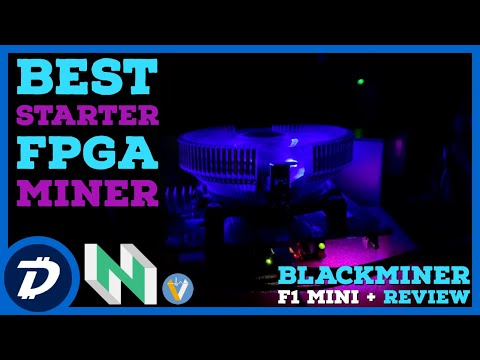 Best Starter FPGA Mining Rig - Hashaltcoin Blackminer F1 Mini + Plus Review | High Profits Low Power