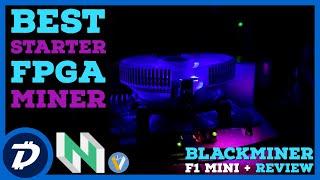 Best Starter FPGA Mining Rig - Hashaltcoin Blackminer F1 Mini + Plus Review | High Profits Low Power