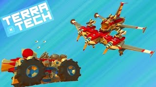 TerraTech #2 Игровой мультик про боевые машинки как конструктор лего Много машин танков самолетов(Боевые машинки мультик игра для детей, собираем машину из кубиков как в конструкторе лего. Выживаем на не..., 2016-10-03T02:00:00.000Z)