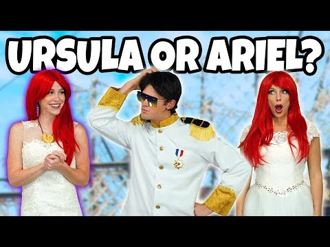 MARRY ARIEL OR URSULA? PRINCE ERIC AT THE MERMAID WEDDING (Ursula's Love Spell) Totally TV