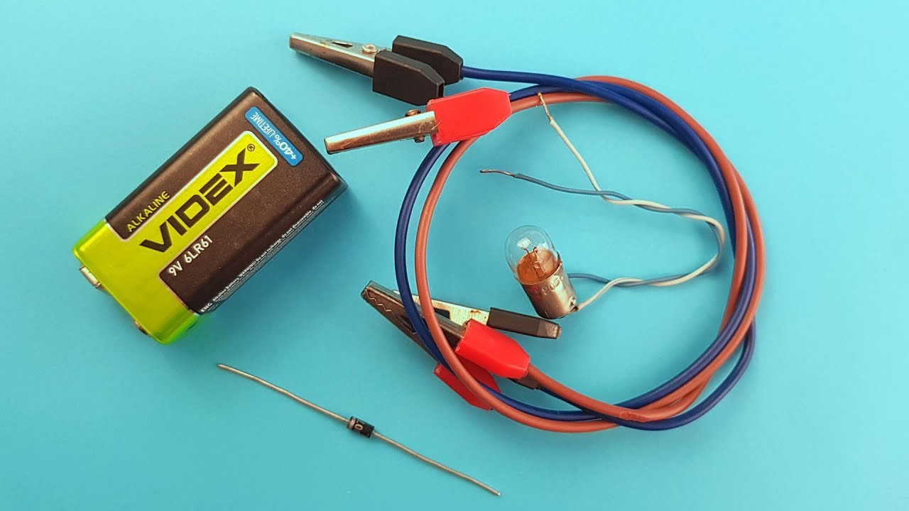 How to Test Diode Without Multimeter - YouTube