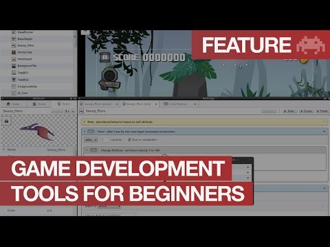 Video Game Development Software for Beginners  | Game Design Tools