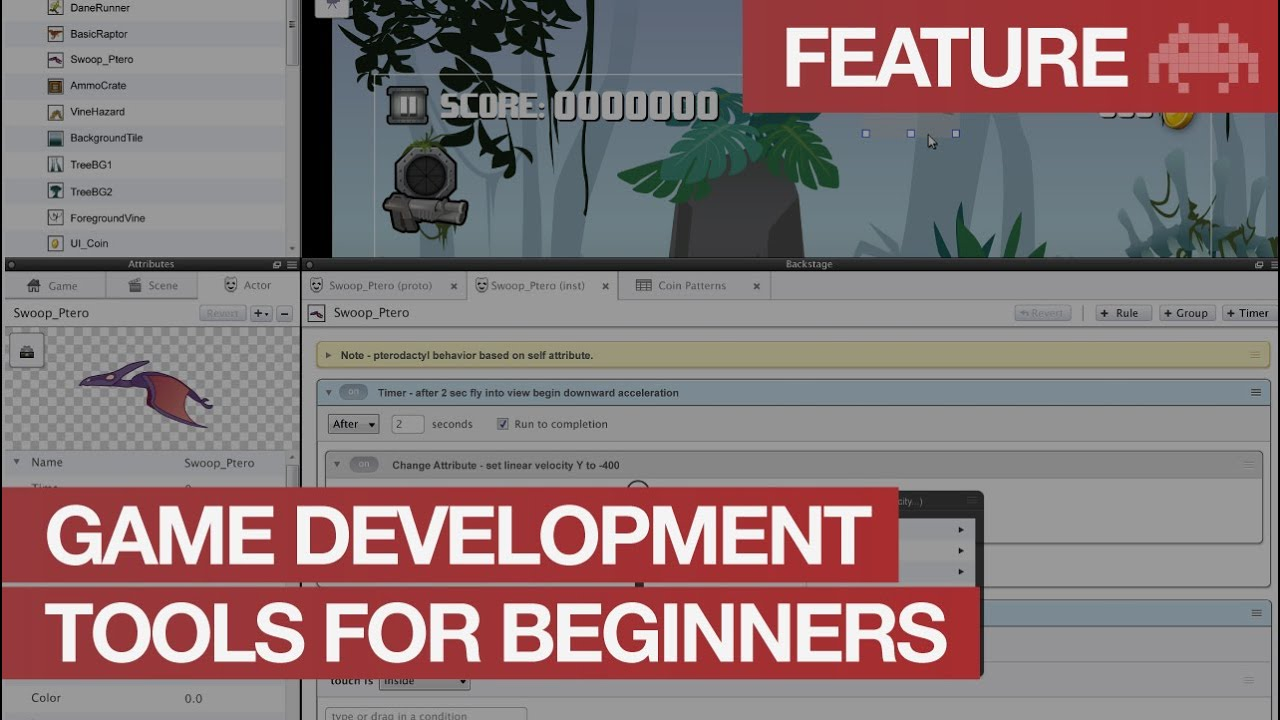 Video Game Development Software For Beginners Game Design Tools - Game design software