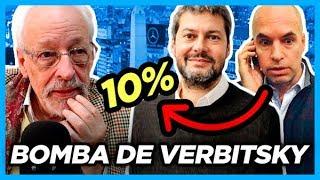 """10 puntos de Larreta se van a Lammens en Octubre"" Columna de Horacio Verbitsky"