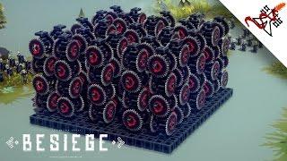 Besiege - The CHAOS Engine (Mass Killing Machine)