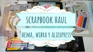 Compras Haul Scrapbook de HEMA, Wibra Y Aliexpress
