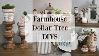 FARMHOUSE DOLLAR TREE DIYS 2019