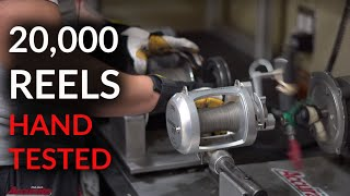 Accurate Reels - Omar Hand Tests 20,000 reels YEARLY
