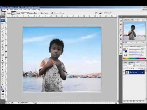 Phần 7 - Bài 6 - Cach sua anh nguoc sang - Photoshop CS2