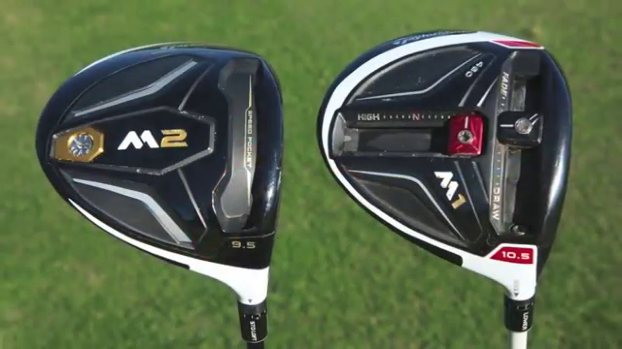 2016 Taylormade M1 Vs M2 Driver Test Golf Monthly