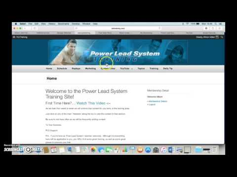 How to make money online  FAST with the  Power Lead System