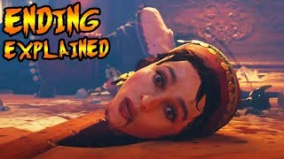 Scarlett Killed The Zombies Character! Easter Egg Ending Explained (Black Ops 4 Zombies Storyline)
