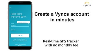 How to Create a Vyncs App Account | VyncsApp | Vyncs Car GPS Tracker