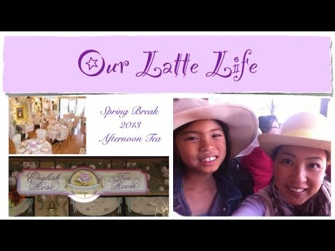 Spend the Day with Us @ The English Rose Tea Room {our latte life}