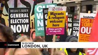 اشتباكات في لندن بين متظاهري اليمين المتطرف واليسار خلال مسيرات مستوحاة من حركة السترات الصفراء…