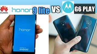 Moto G6 play VS honor 9 lite Which is better for you in hindi | full specification |