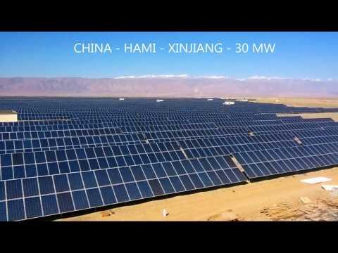 Talesun Solar Renewable Energy Projects Worldwide