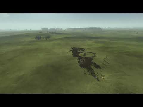 Rome 2 Total War - Empire Devided (1000 Saxoni Pikeman - 3200 Alani Horseman) |